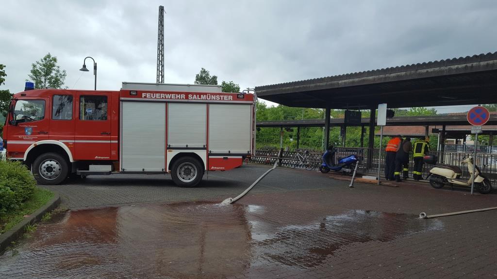 Feuerwehr Salmünster Am Dienstagmorgen Zwei