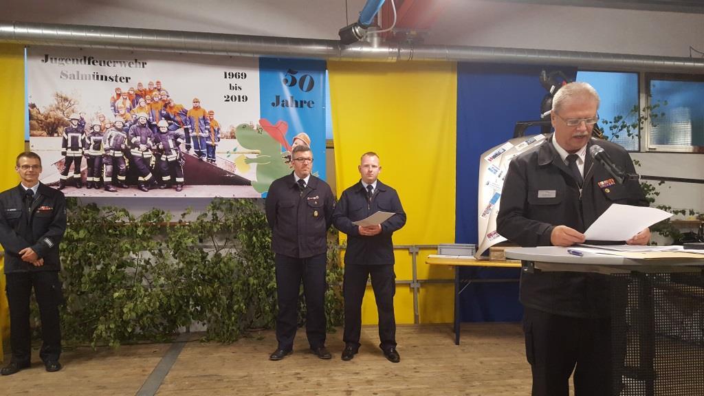 Stadtfeuerwehrtag - Ehrung Mit Florian